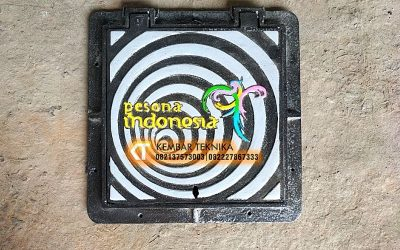 Jual Manhole Cover Baja Cor Indonesia