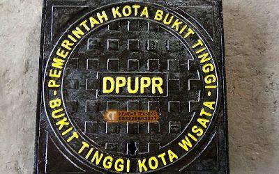 Manhole Cover Tutup Saluran Air Pemerintah Kota Bukit Tinggi